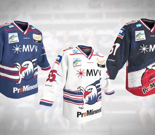 Adler Mannheim Trikot Saison 2015/2016