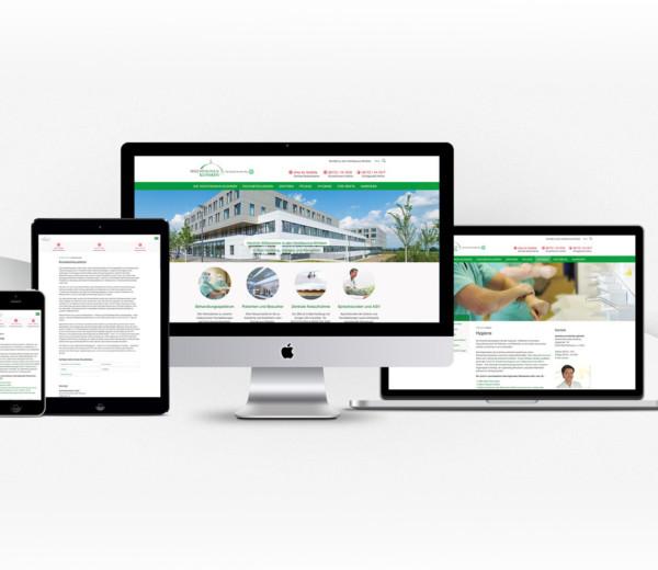 Internetagentur Dots United und die Hochtaunus-Kliniken