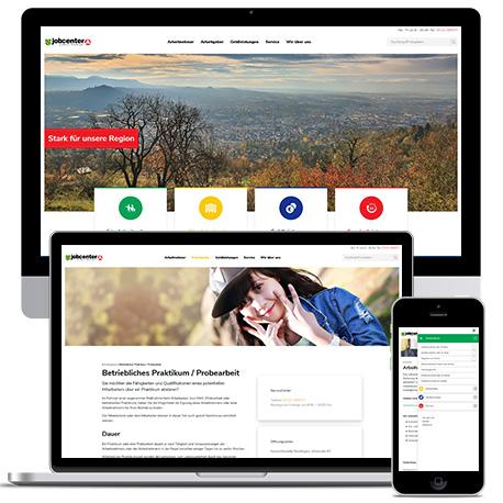 Neue Website für das Jobcenter Reutlingen